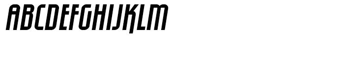 Eumundi Sans Italic Font UPPERCASE