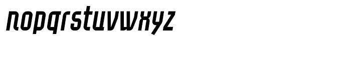 Eumundi Sans Italic Font LOWERCASE