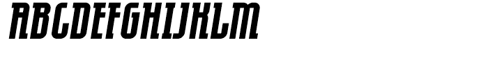 Eumundi Serif Bold Italic Font UPPERCASE