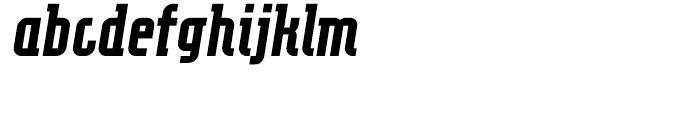 Eumundi Serif Bold Italic Font LOWERCASE