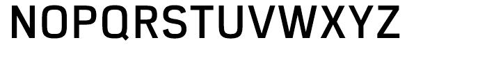 Eund DemiBold Font UPPERCASE