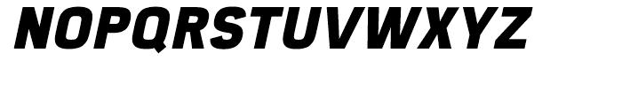 Eund Heavy Italic Font UPPERCASE