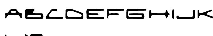EuroMachina BT Eroded Font LOWERCASE