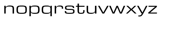 Eurostile Next Extended Regular Font LOWERCASE
