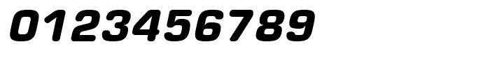 Eurostile Round Black Italic Font OTHER CHARS
