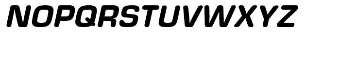 Eurostile Round Heavy Italic Font UPPERCASE