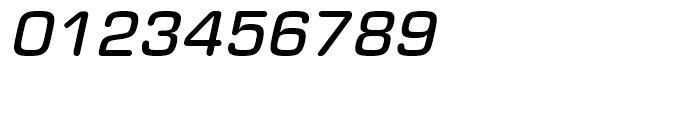 Eurostile Round Medium Italic Font OTHER CHARS
