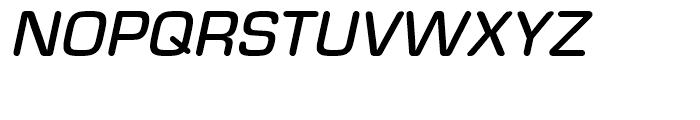 Eurostile Round Medium Italic Font UPPERCASE