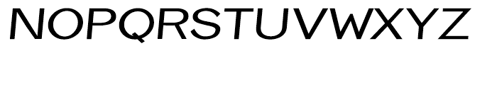 Eurydome Extended Italic Font UPPERCASE