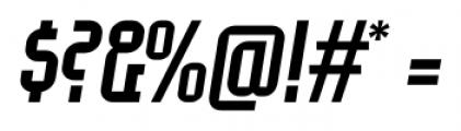 EumundiSans Italic Font OTHER CHARS