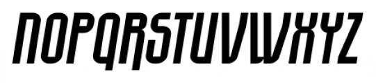 EumundiSans Italic Font UPPERCASE