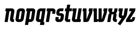 EumundiSerif Bold Italic Font LOWERCASE