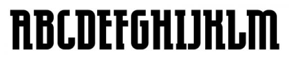 EumundiSerif Bold Font UPPERCASE