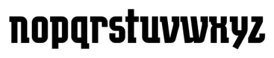 EumundiSerif Bold Font LOWERCASE