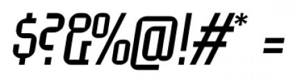EumundiSerif Book Italic Font OTHER CHARS