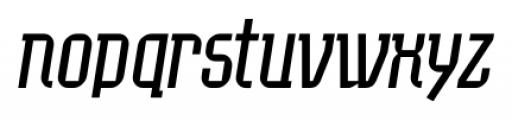 EumundiSerif Book Italic Font LOWERCASE