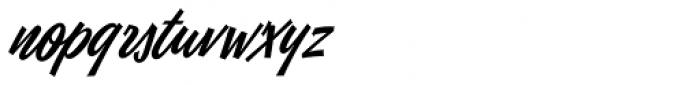 Eubie Script Font LOWERCASE