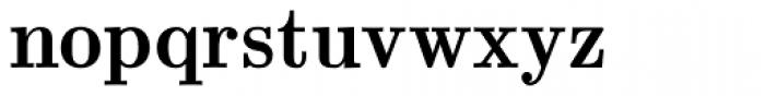 Euclid Bold Font LOWERCASE
