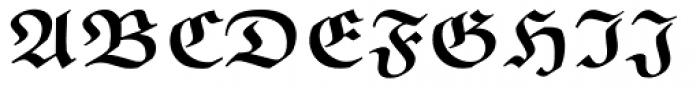 Euclid Fraktur Bold Font UPPERCASE