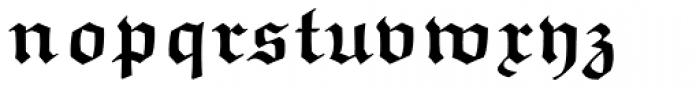 Euclid Fraktur Bold Font LOWERCASE
