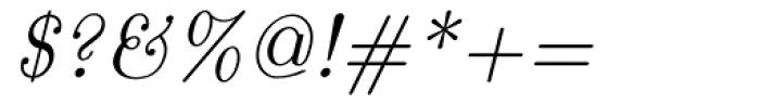 Euclid Italic Font OTHER CHARS
