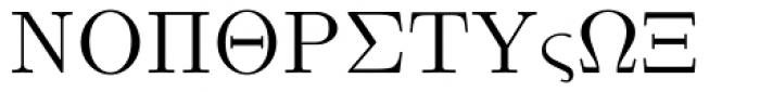 Euclid Symbol Font UPPERCASE