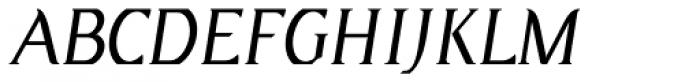 Eulipia Italic Font UPPERCASE