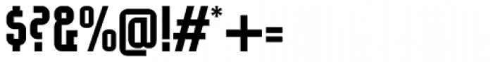 Eumundi Sans Bold Font OTHER CHARS