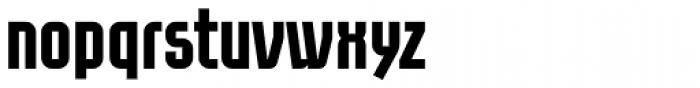 Eumundi Sans Bold Font LOWERCASE