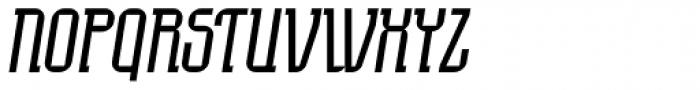Eumundi Serif Book Italic Font UPPERCASE