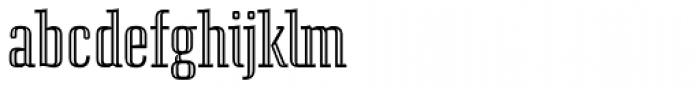 Euphonia Roman Engraved Font LOWERCASE