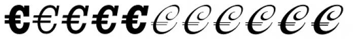 Euro Classic EF C Font UPPERCASE