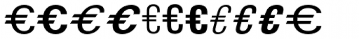 Euro Classic EF C Font LOWERCASE