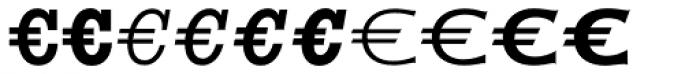 Euro Serif EF Seven Font UPPERCASE