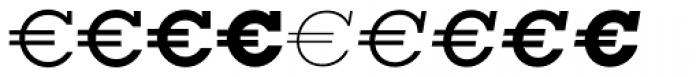Euro Serif EF Seven Font LOWERCASE