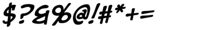 EuroComic Bold Italic Font OTHER CHARS