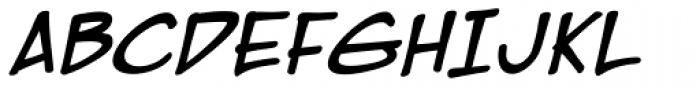EuroComic Bold Italic Font UPPERCASE