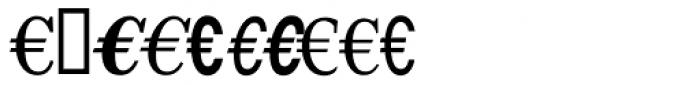 EuroFont 81 Font OTHER CHARS