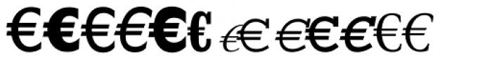 EuroFont 81 Font UPPERCASE