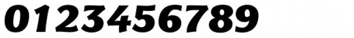 Eurocrat Black Italic Font OTHER CHARS