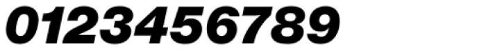 Europa Grotesk Nr 2 SB UltraBold Italic Font OTHER CHARS