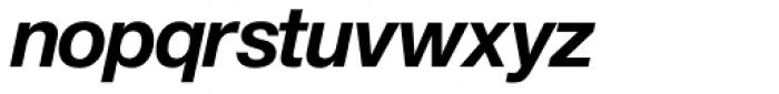 Europa Grotesk Nr 2 SH Bold Italic Font LOWERCASE