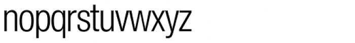 Europa Grotesk Nr 2 SH Light Cond Font LOWERCASE