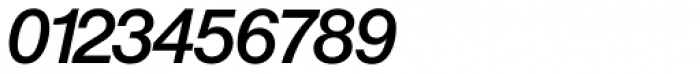 Europa Grotesk Nr 2 SH Med Italic Font OTHER CHARS