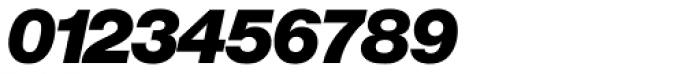Europa Grotesk Nr 2 SH UltraBold Italic Font OTHER CHARS