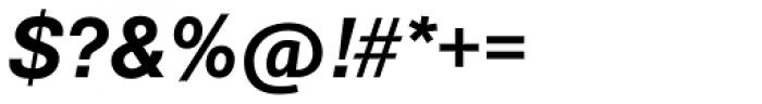 Europa Grotesk SB Med Italic Font OTHER CHARS
