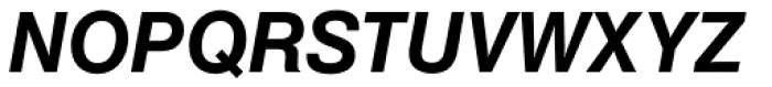 Europa Grotesk SB Med Italic Font UPPERCASE