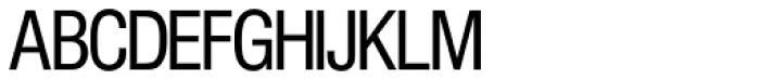 Europa Grotesk SH Cond Font UPPERCASE