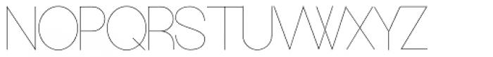 Europe Underground Light Font UPPERCASE