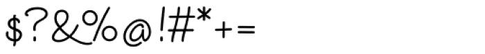 Euroscript Pro Font OTHER CHARS